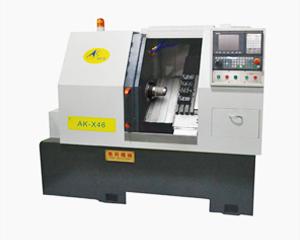 Split inclined rail 45 ° cutter arrangement CNC lathe
